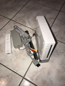 Nintendo Wii Modded with Over 1000 Games NES SNES SEGA N64 ECT