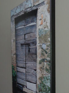 Old door from Italy - plaque-mounted photo Belleville Belleville Area image 2