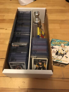 lot of 227 different hockey card of mario lemieux