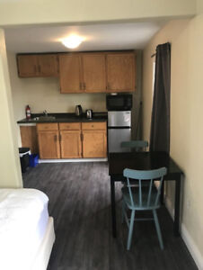 STUDIO APARTMENT AVAILABLE ON 8 OR 12 MONTH LEASE