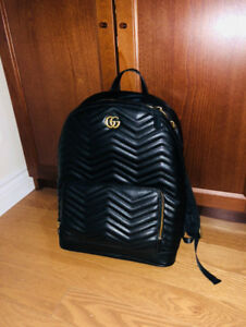 GUCCI Marmont Matelasse Leather Backpack - Like New & Authentic
