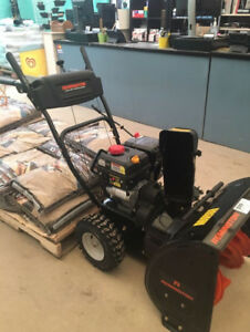 "Remington Snow Blower 24"" - BRAN NEW"