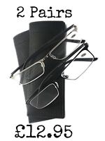 Mt101 2 Xpairs Stainless Steel Italian Design Tucana Glasses In 2 Colours+pouch - fads & fashion - ebay.co.uk