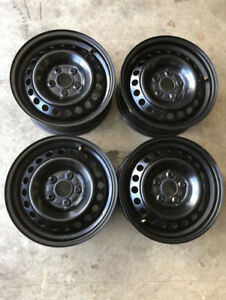 "108 x 5 4 OEM Ford 15"" Rims with TPMS Sensors"