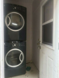 2015 GE 27 '' front load Washer  Dryer for sale
