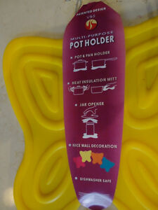 Silicone Butterfly Pot Holder / Pot Mats Heat resistant $3.50/ea Kitchener / Waterloo Kitchener Area image 2