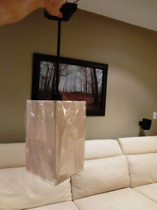 Brand New Light Brown Rectangle Shade Light Fixture Kitchener / Waterloo Kitchener Area image 3