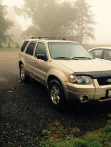 2007 Ford Escape Limited Editionn 4x4