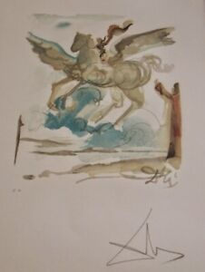 Salvador Dali (1904-1989)-Original Lithograph/Painting