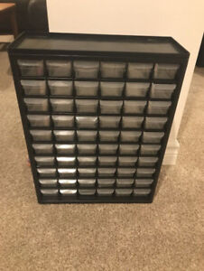 Canadian Tire 60-drawer organizer