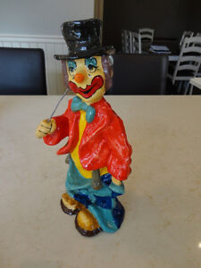 """Selling Three Paper Mache Hand made in Mexico 12"""" Tall Clowns Kitchener / Waterloo Kitchener Area image 5"""