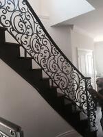 Iron railings and gates stairs porch indoor outdoor