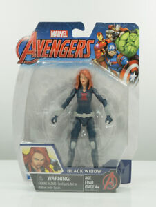 Hasbro Marvel Avengers Black Widow 6-in Basic Action Figure.
