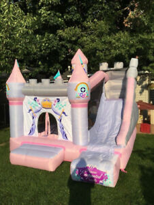 Princess Bouncy Castle for rent or purchase !