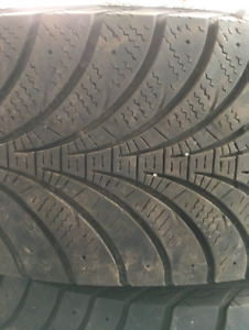 Good Year winter tires: 235-70-16s