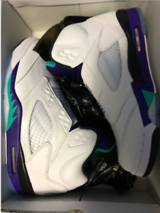 DS Men Jordan 5 NRG Fresh Prince Grape