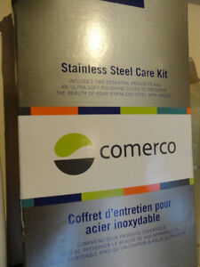 Comerco Stainless Steel Appliance Care Kit - Cleaner & Polisher Kitchener / Waterloo Kitchener Area image 2