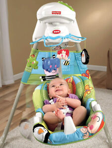 Fisher-Price Discover and Grow Cradle Swing