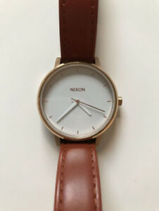 Montre/Watch - Nixon The Kensington - Rose Gold/White