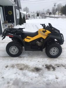 2012 CAN AM OUTLANDER 800 XTP ONLY 5200$ !