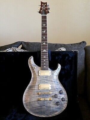 PRS 594 McCarty 10 Top Faded Whale blue - Wood Library(?) - Figured Flame Neck