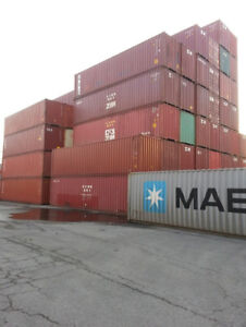 20' & 40' NEW & USED Shipping Containers For Sale