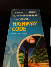 Motorcycle highway code and theory test books