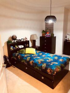 3-piece Child Bedroom Set - Espresso