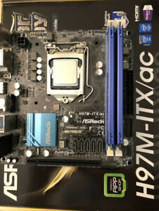 Great ITX combo i7 4790-h97-16GB Ddr3 1600
