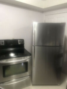 1 years old Fridge And Stove For sale