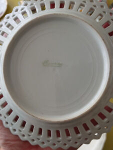 Antique dishes - Devon Rose & assorted others