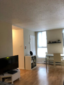 LEASE TRANSFER MAY 1 - Beautiful studio in the heart of Montreal