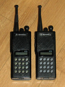 MOTOROLA GTX UHF 900 MHz FM Radio Amateur Private Communications