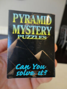 Selling Brand New Solid Wood Pyramid Mystery Puzzles - I have 24 Kitchener / Waterloo Kitchener Area image 2
