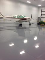 Industrial strength garage flooring finish