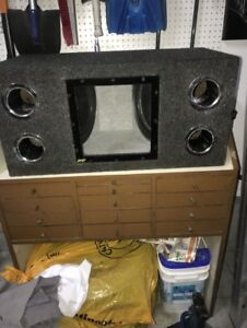 "2x12"" subs. Rockford fostgate"