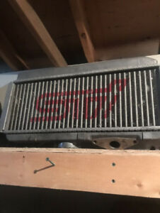 STI Intercooler with Y Pipe