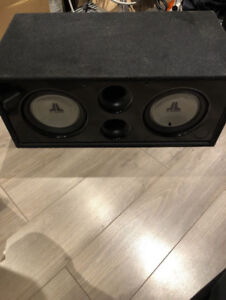 Top Of the Line JL Sub with Custom Enclosure