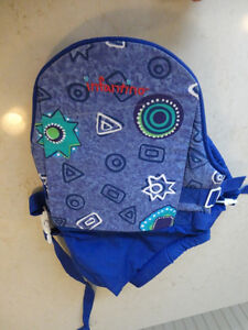 Like New Infantino Baby Carrier - Baby Rider 2 Tone Blue Pattern Kitchener / Waterloo Kitchener Area image 3