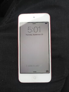 Ipod 5 (red)