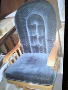 ROCKING CHAIR PADDED NO OTTOMON INCLUDED