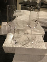 Crystal By Swarovski Champagne glasses