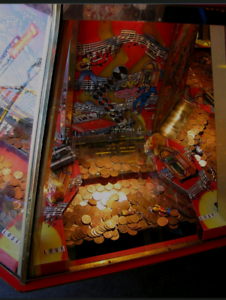 WTB coin pusher arcade machine | Collectables | Gumtree ...