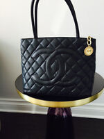 Iconic Chanel Black Quilted leather
