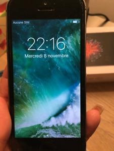 Iphone 5 comme neuf 150$