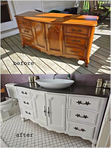 Remodeling, Redesigning and refurbishing any kind wood furniture