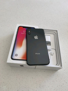 Brand New Space Grey iPhone X 64GB With Warranty + OtterBox