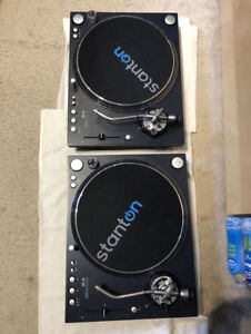 Stanton ST.150 DJ Turntables - BRAND New with Boxes