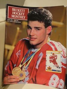 A Collection of Vintage Hockey Mags, Framed Cards & Plaque Kitchener / Waterloo Kitchener Area image 3