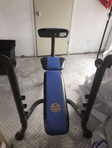 Weight bench press great condition!!